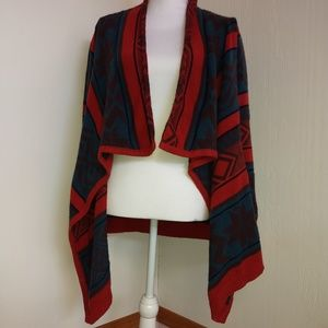 Blu Pepper South Western Cardigan Large